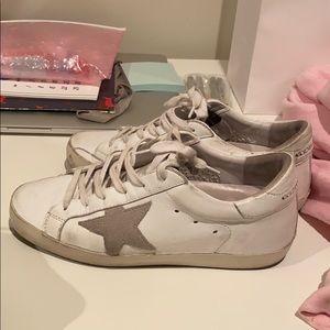 white golden goose sneakers 36
